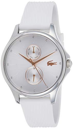 Lacoste Unisex Multi Zifferblatt Quarz Uhr mit Silikon Armband 2001023