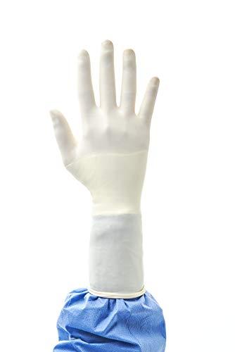 Ansell Gammex OP-Handschuhe Non-Latex Sensitive, Neopren, Frei von Beschleunigerchemikalien, Medizin, Chirurgie, Naturfarben, Größe 6, SMART Pack 4 x 50 Paar