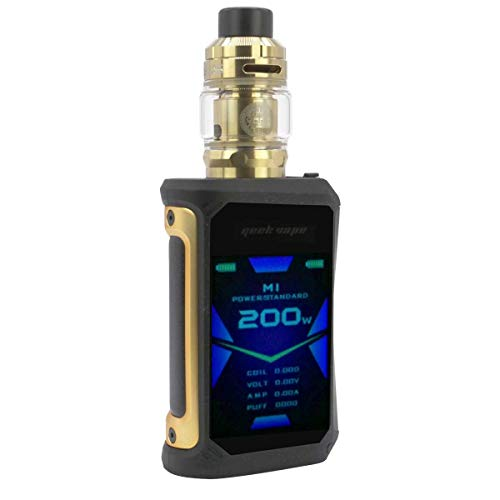 GeekVape Aegis X Kit 200 W, mit Z Sub Ohm Tank 3,5 ml/5 ml, Riccardo E-Zigarette, gold/black