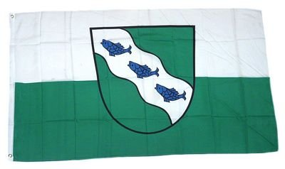 Fahne / Flagge Ansbach NEU 90 x 150 cm Flaggen