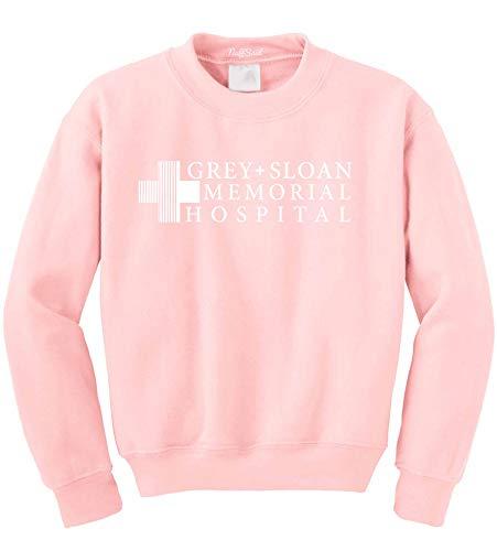 NuffSaid Grey Sloan Memorial Hospital Sweatshirt Sweater Crew Neck Pullover – Premium Quality