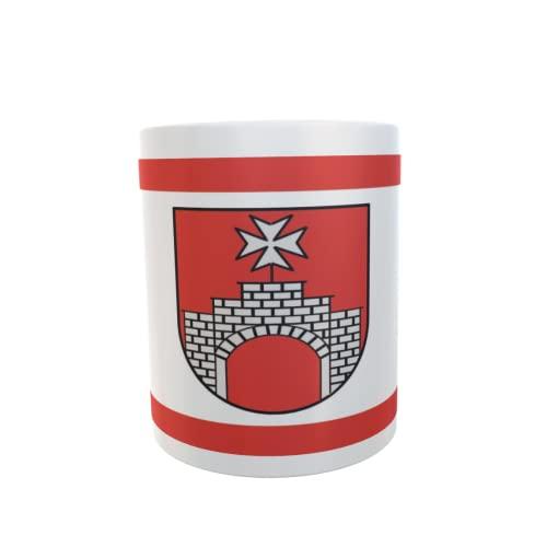 U24 Tasse Kaffeebecher Mug Cup Flagge Rieste