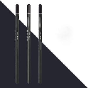 lapiceros SFBBBO 3 uds, Lápiz de carbón suave/súper suave/neutro, material de papelería escolar, lápices para…