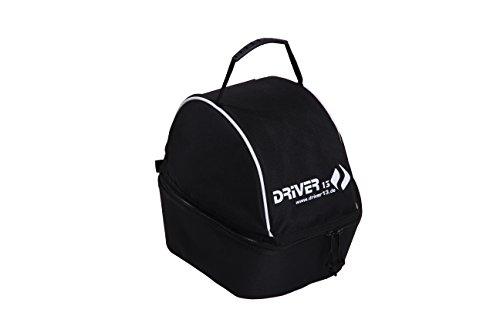 Driver13 ® Helmtasche Helmcase für Skihelm Fahrradhelm Reithelm Helmbag Helmbeutel gepolstert schwarz