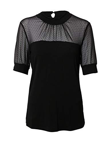 KAFFE Damen Bluse schwarz XL