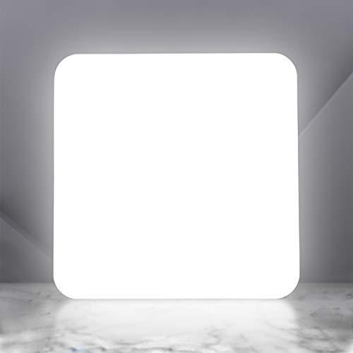 LED Deckenleuchte Dimmbar mit Fernbedienung, 36W 3600LM Led Deckenlampe dimmbar, Helligkeit und Lichtfarbe einstellbar, LEOEU IP54 Wohnzimmerleuchte für Bad Schlafzimmer Kücke Büro Hotel