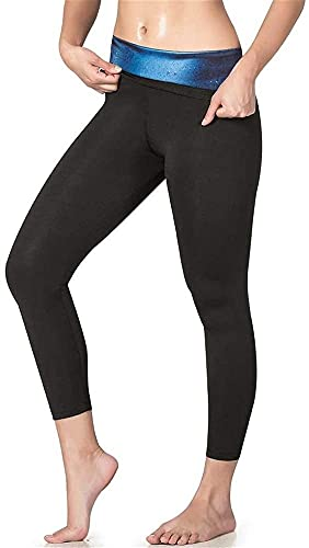 Señoras Yoga Medias cintura alta Pantalones, deportivos Pantalón cropped Moldeadores cuerpo Fitness Pérdida peso - Tiro alto Leggings deportivos para mujeres Entrenamiento ajustado para gimnasio
