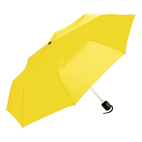 ShedRain Umbrellas Luggage Manual Compact, Yellow, One Size