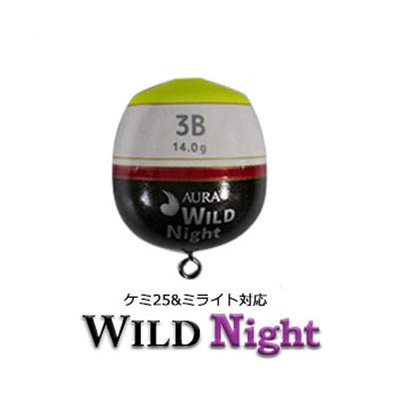 ポットグリル学者アウラ ワイルドナイト(WILD Night)イエロー カン付ウキ