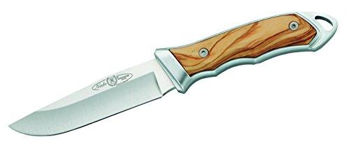 Nieto Unisex– Erwachsene Messer Gürtelmesser Olivenholz Gesamtlänge: 21.5 cm, braun, 21,5cm