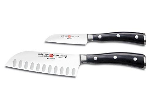 Wusthof Classic Ikon 2 Piece Mini Asian Knife Set 2 Piece Asian Cutlery Set