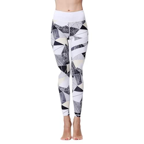 QTJY Pantalones de Yoga para Nalgas de Cintura Alta para Mujer, Push-ups, Pantalones de chándal para Gimnasio, Pantalones de Yoga elásticos para Abdomen, Pantalones de Yoga I L