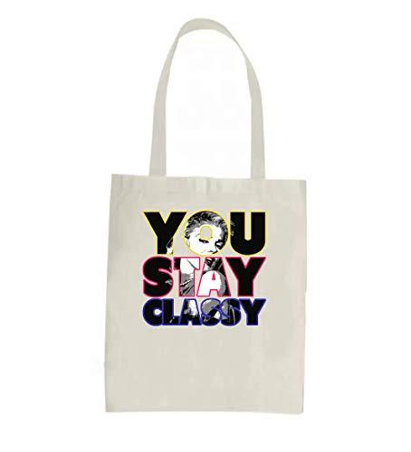You Stay Classy Marilyn Monroe Graphic Einkaufstasche - lustige Einkaufstasche