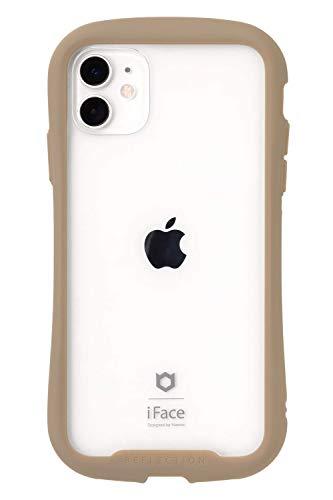 iFace Reflection iPhone 11 ケース クリア 強化ガラス [ベージュ]