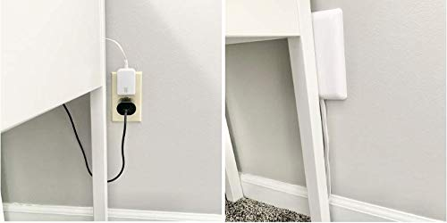 Product Image 7: Sleek Socket Ultra-Thin Electrical Outlet Cover with 3 Outlet Power Strip and Cord Management Kit, 8-Foot, Standard Size