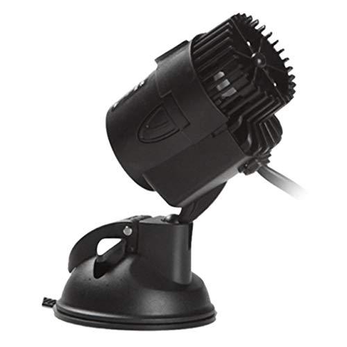 ESJasnyfall Powerhead Wave Maker voor waterpomp, afzonderlijk met zuigvoet, sterke circulatiepomp voor Aquarium Super Motor (zwart)