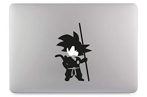 Son Goku Body Aufkleber Laptop Sticker Folie geeignet für alle neumodischen & Alten Apple MacBook Modelle (11 Zoll, 12 Zoll, 13 Zoll, 15 Zoll, 16 Zoll, 17 Zoll)