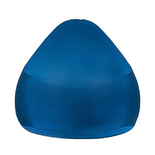 LuoMei Bean Bag Sofá Perezoso Soporte de Respaldo Alto Diseño de Cremallera Oculta Sillones de Tela Elástica para Todos Los Bages Forro Independiente Fácil de Limpiar Envío Gratis Cepillo PegajosoAzu