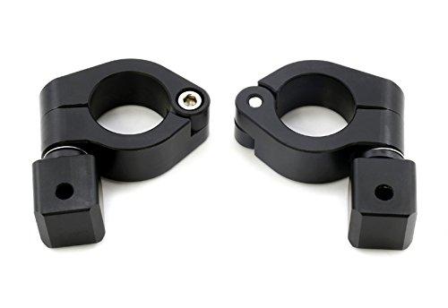 Motorrad Halter Für Nebelscheinwerfer 25MM Schutzbügelmotage Zusatzscheinwerfer Halterung