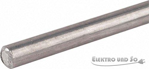Dehn+Söhne Runddraht AlMgSi halbhart 840 108 8mm Rundleiter/Draht für Blitzschutz 4013364080423