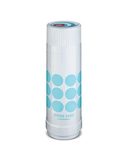 ROTPUNKT Isolierflasche 40 MAX Retro Edition 0,25 l > 0,50 l > 0,75 l > 1,0 l (Apollo Sky, 500 ml)