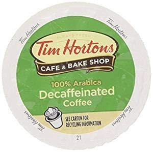 Tim Hortons DECAF Single Serve Coffee 72 Count