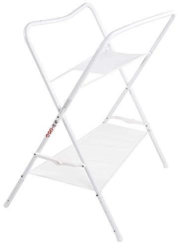 LUPPEE stabiler Badewannenständer, Universalständer für Babywannen, Höhenverstellbarer Ständer für Baby-Badewanne 84 cm, Höhenverstellung: 94 cm, 98 cm, 102 cm, 106 cm