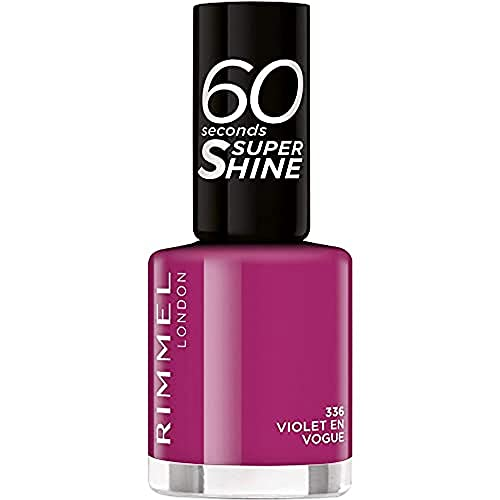 Rimmel 60Sekunden Super Shine Nagellack Flip Flop 336, 8 ml