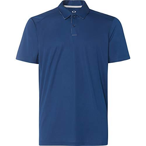 Oakley Men's Divisonal Polo, Dark Blue, XL