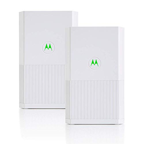 Motorola Whole Home Mesh WiFi System, AC2200 Tri-Band Mesh WiFi 2-Pack, up to 6,000 sq ft, Router Plus 1 Satellite...