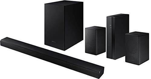 Samsung HW-T550 Bluetooth Soundbar with Dolby Audio Wireless Subwoofer with a Samsung SWA-8500S Rear Speaker Wireless Kit (2020)