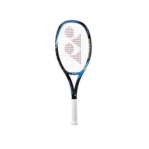 YONEX Ezone 25 Junior HM - Raqueta de tenis (grafito, 63,5 cm), color negro y azul