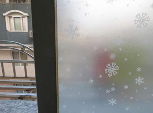 Mode Mat Veiligheid Privacy Vorst Glas Raam Deur Film PVC Sticker Slaapkamer Badkamer Woondecoratie 2m, Sneeuwbloem