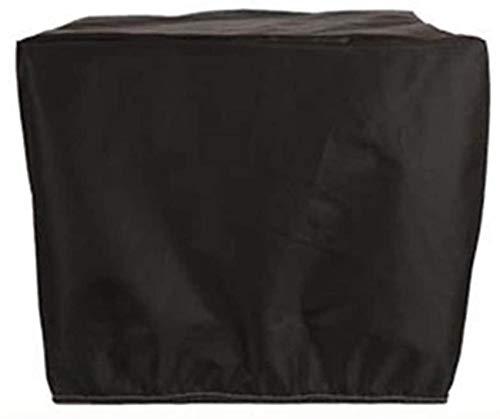 dfff Cubierta de Muebles de jardín Lona Impermeable Protector Solar a Prueba de Polvo Protección Rectangular Muebles de Exterior Plata Negro 30 Tamaños