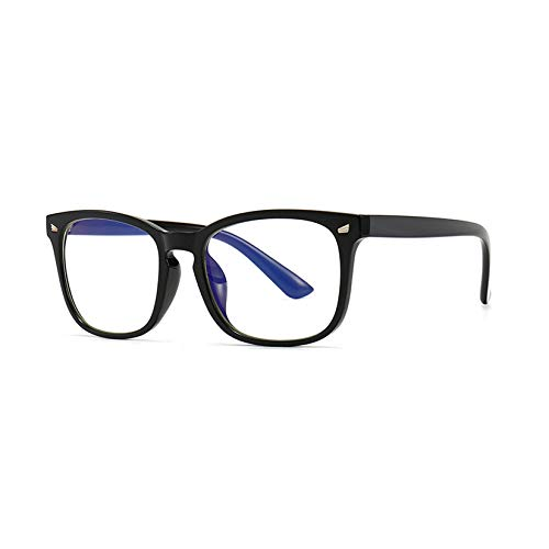 LORIEL Blue Light Blocking Glasses - 2 Pack - Fashion Square Nerd Eyeglasses - for Women Men - Anti Glare Filter Lightweight Eyeglasses,G