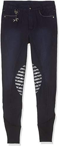 United Sportproducts Germany USG kinderen Usg jeugd-rijbroek Lucia, jeans look met kniebeleg, kinderrijbroek