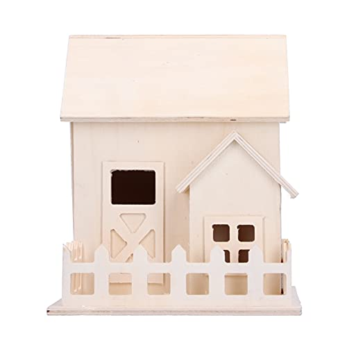 BOTEGRA Birdhouse Crafts, Seguro de Usar Bird House Great Crafts Gift for Teens Bird Cage Ornament for Home for Kids