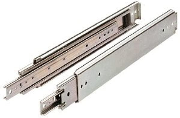 Drawer Slide Full Extension 22 In Heavy Duty 500 Lb Capacity Zinc By Hettich