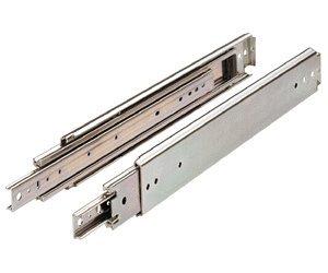 Drawer Slide, Full Extension, 24 In., Heavy Duty, 500 Lb. Capacity, Zinc by Hettich