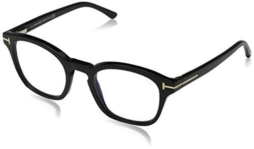 Eyeglasses Tom Ford FT 5532 -B 01V shiny black/blue, 49-21-140