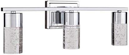 allen + roth Dunwynn 3-Light L Contemporary Modern Vanity Max Max 41% OFF 87% OFF Chrome