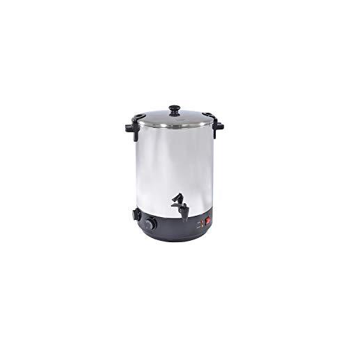 Kitchen chef - zj-120td - Stérilisateur électrique inox avec robinet et minuteur 12l 1650w