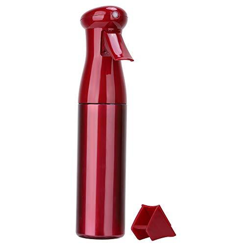 SunshineFace 250ml hoge druk gieter, Water Mist Spray Fles Sprayer voor Kappers Rood