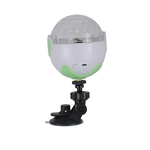 LED downlight Mini DJ Coche LED Crystal Magic Ball Proyección Etapa Luces Colorido Atmósfera Luz Etapa de sonido Activado Colorido Cristal Magic Ball para Home Karaoke Amigos Fiestas Celebración Cumpl