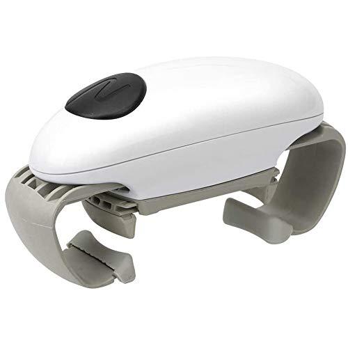 One Touch Apriscatole Elettrico Apriscatole Automatico Per Anziani Con Artrite Mani Deboli Apribottiglie Per Mani Artritiche