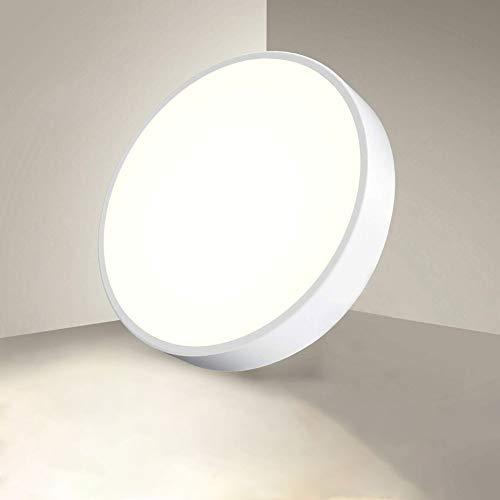 Plafoniera LED 28W Lampada da Soffitto, 2800LM Illuminazione da Interno, Ø40cm*5cm, Protezione per Gli Occhi, LED Lamp Moderno per Soggiorno Cucina Bagno Camera da Letto Balcone Corridoio, 3000K