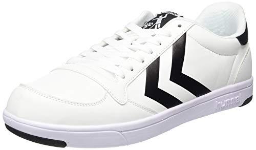 hummel Unisex Stadil Light Sneaker, Weiß (White 9001), 36 EU