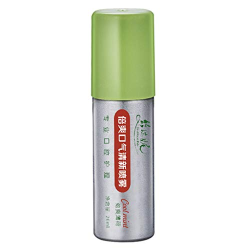 kdjsic 20ml Breath Freshener Oral Spray Mint Bad Odor Halitosis Treatment Clean Mouth