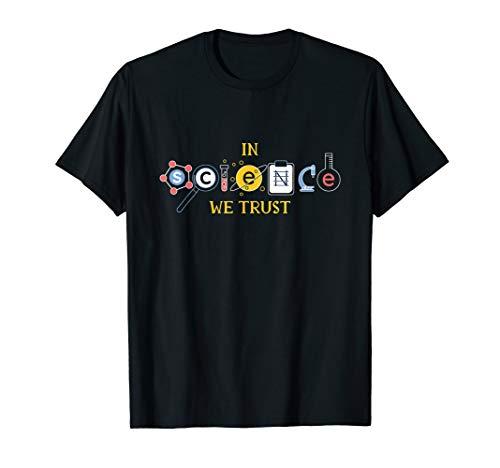 In Science We Trust Nerd Lustig T-Shirt