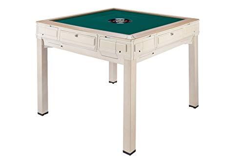 【紺色テーブル】全自動麻雀卓FR-X5 安全PSE付全自動麻雀卓 4本脚で楽々プレイ・ダイニング専用板付き サイドテーブル・保証書・赤どら・焼鳥・保護カバー付